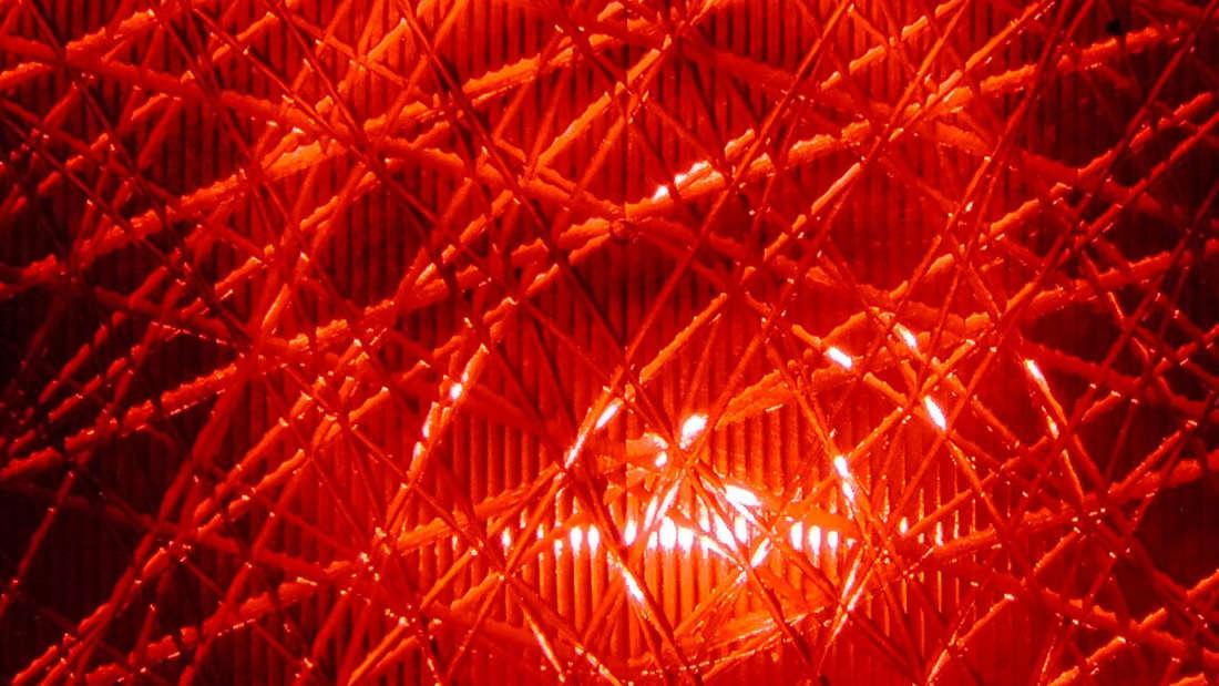 Rotlicht an der Ampel.