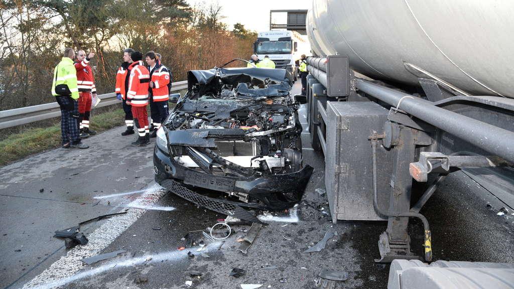 Unfall A5 Kronau