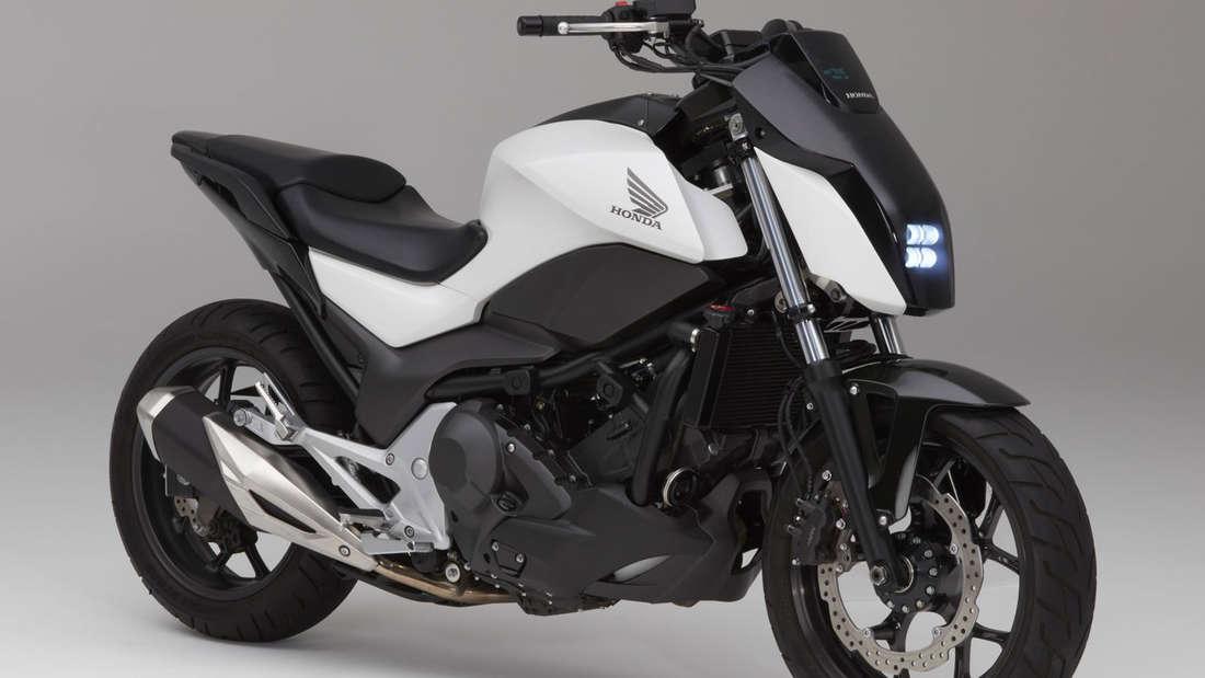 "Honda-Prototyp mit ""Moto Riding Assist""."