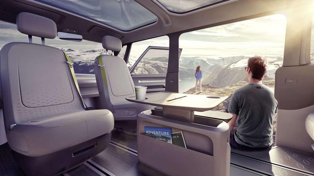 Volkswagen zeigt den Elektro-Bulli: den VW I.D. Buzz.