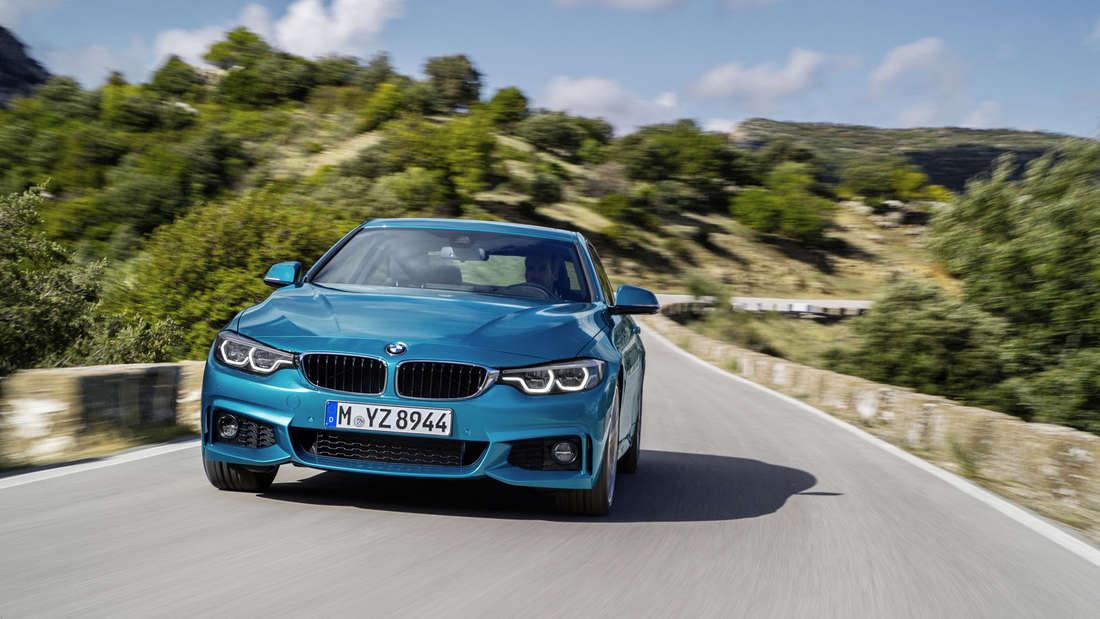 BMW 4er Facelift 2017: BMW 4er Coupé.