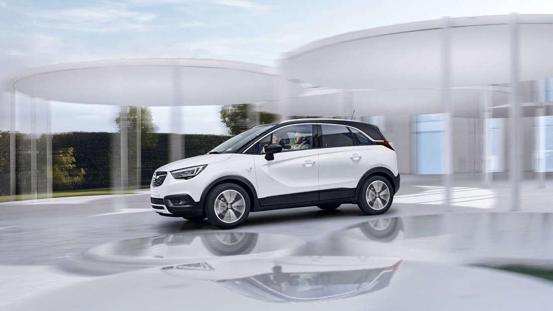Fotos und Details vom neuen Opel Crossland X (2017).