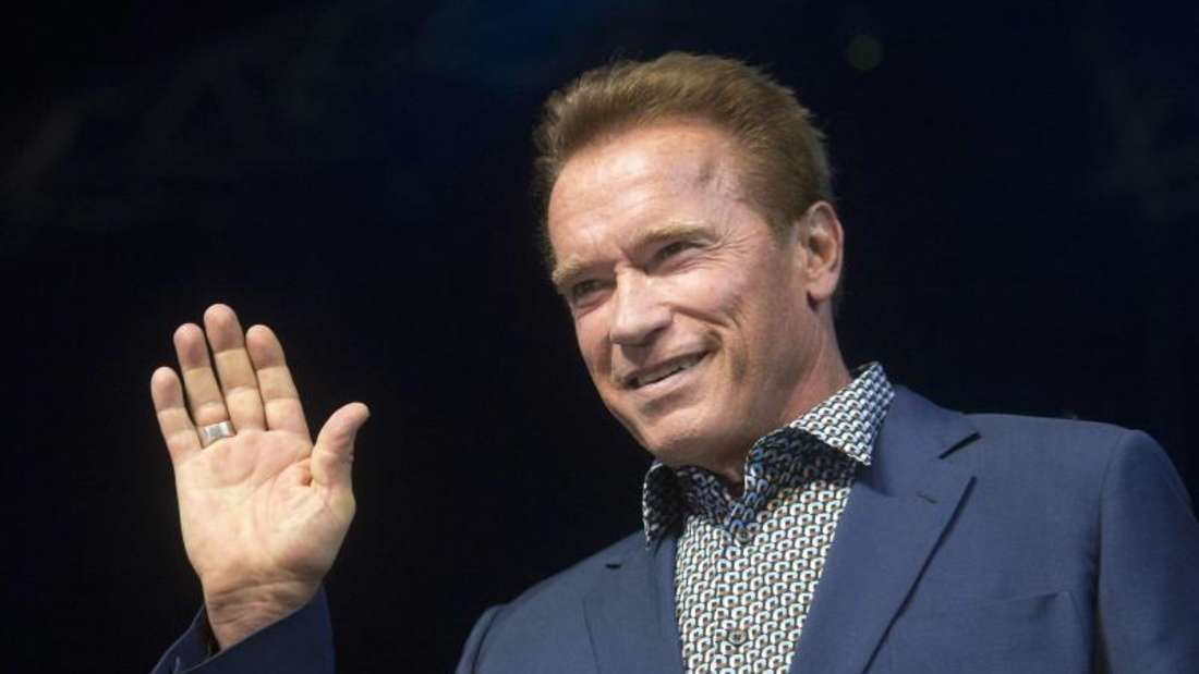 Arnold Schwarzenegger findet deutliche Worte. Foto: Szilard Koszticsak/MTI