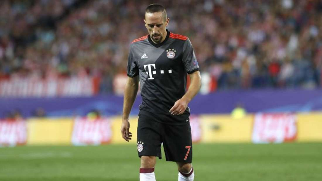 Franck Ribéry fällt wegen einer Zerrung im Oberschenkel vorerst aus. Foto: Ballesteros