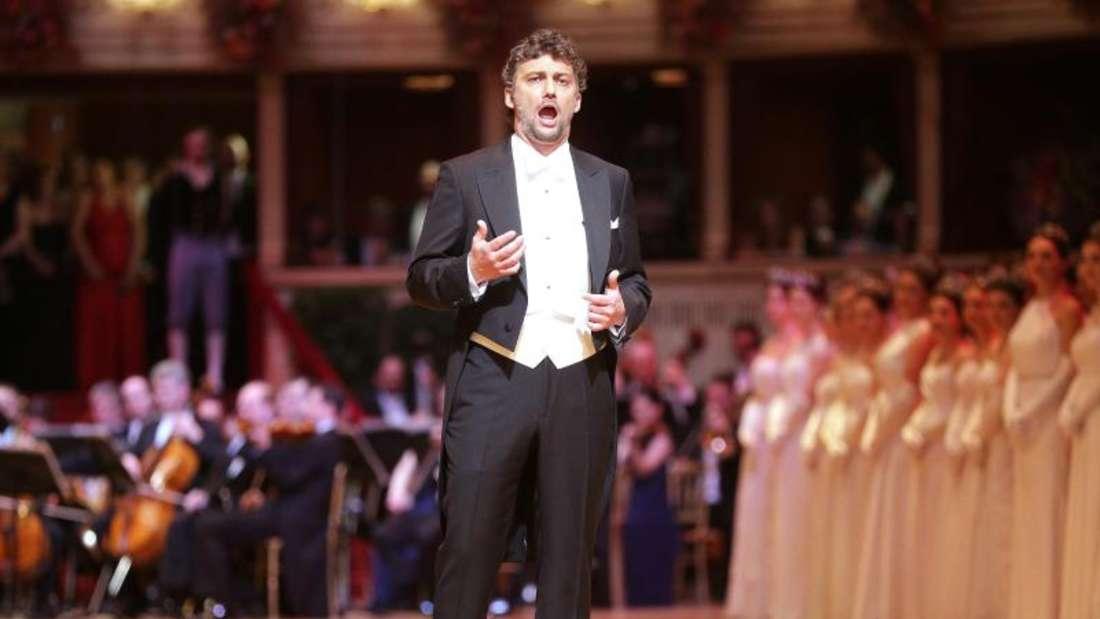 Startenor Jonas Kaufmann sorgte für den musikalischen Höhepunkt. Foto: Georg Hochmuth