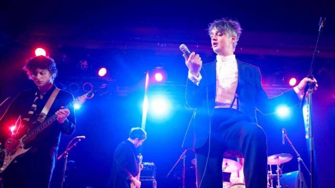 Der britische Musiker gab ein Konzert in Hamburg. Foto:Christian Charisius