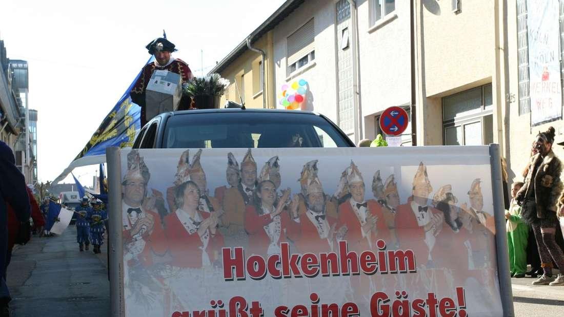 Närrische Impressionen vom 58. Fasnachtsumzug durch Hockenheim.
