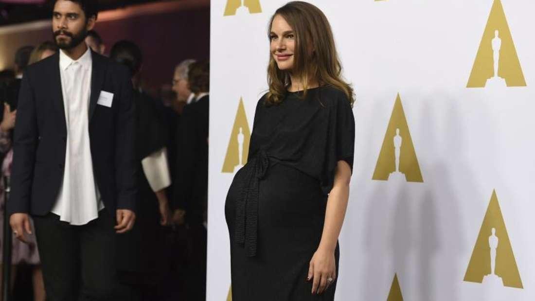 Natalie Portman beim Lunch der Oscar-Nominierten Anfang Februar. Foto:Jordan Strauss/Invision