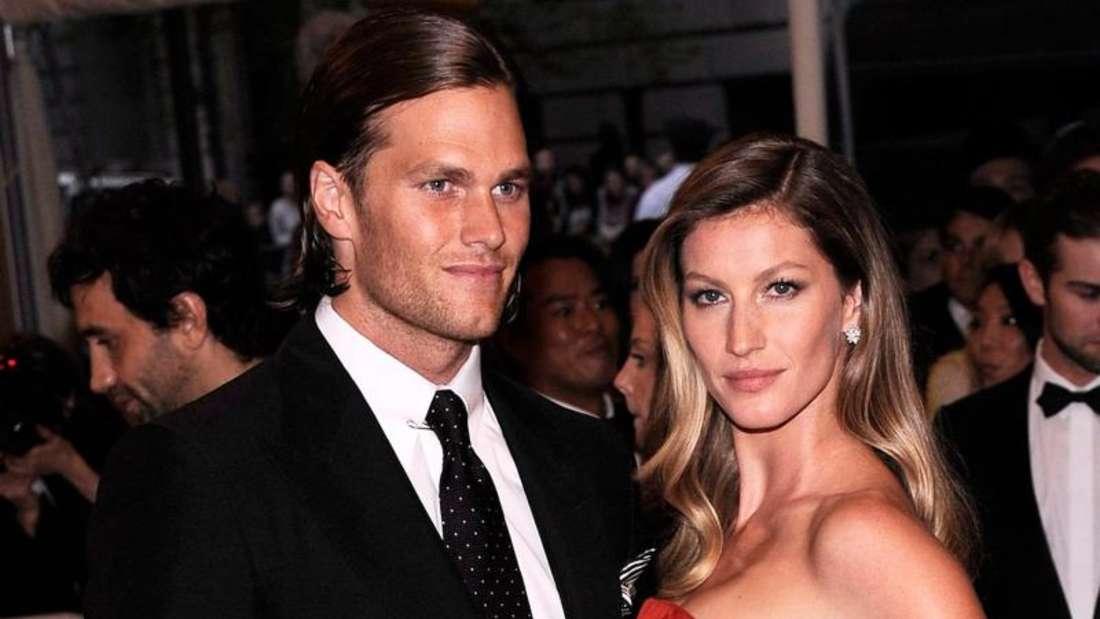 Topmodel Gisele Bündchen und iUS-Footballspieler Tom Brady 2015 in New York. Foto: Justin Lane/EP
