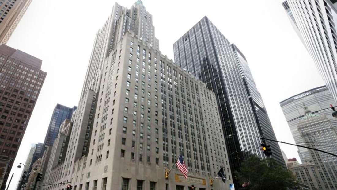 Ende einer Ära - das Luxushotel Waldorf-Astoria in New York. Foto: Justin Lane