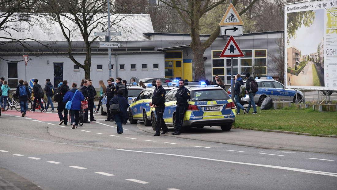 Amok-Alarm an Heidelberger Schule entpuppt sich als Fehlalarm.