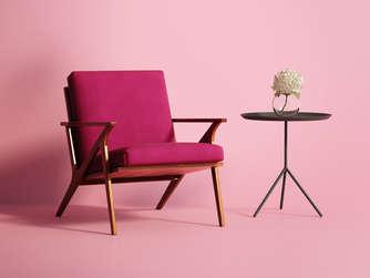 do it yourself den alten sessel neu beziehen bauen wohnen. Black Bedroom Furniture Sets. Home Design Ideas