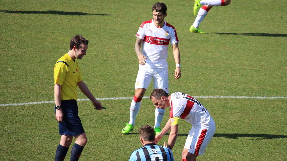 VfB Stuttgart II gegen SV Waldhof.