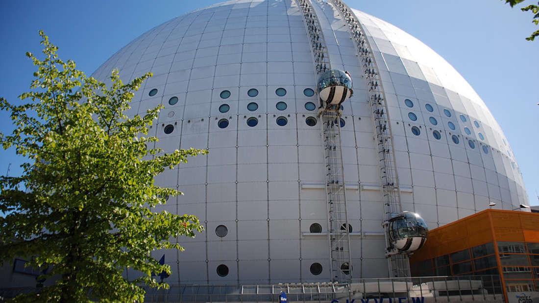 Der Globen bietet eine Blick über ganz Stockholm.