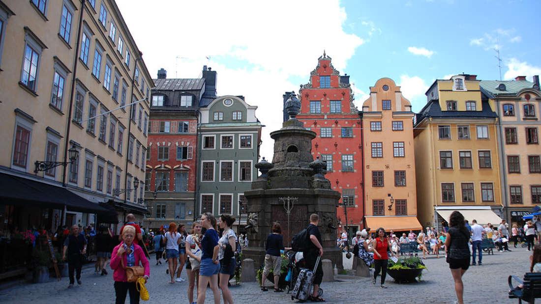 Gamla Stan ist die Altstadt von Stockholm.