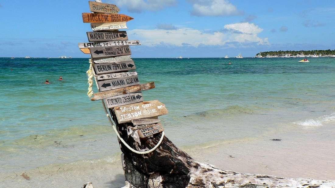 Punta Cana in der Dominikanischen Republik.