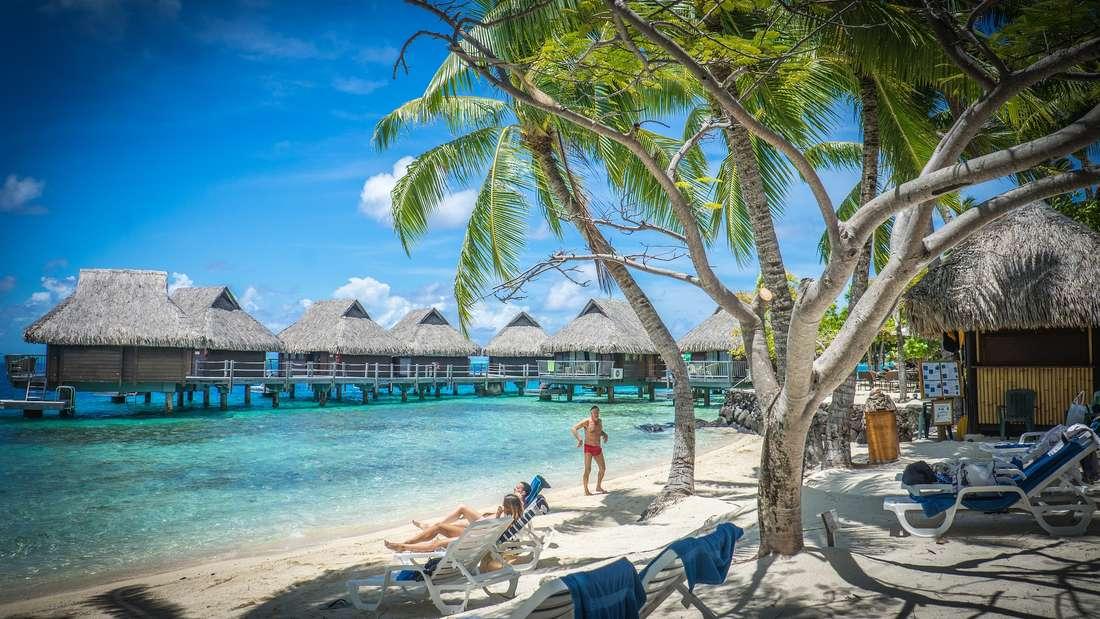 Bora Bora lockt mit wahren Traumstränden.