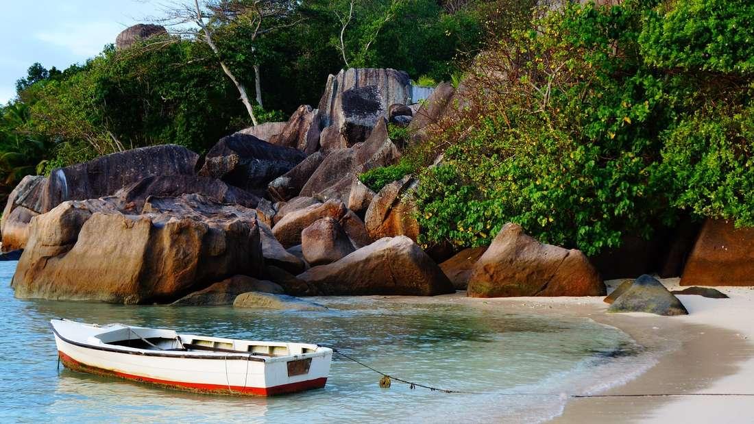 Mahé zählt neben Praslin und La Digue zu den drei Hauptinseln der Seychellen.