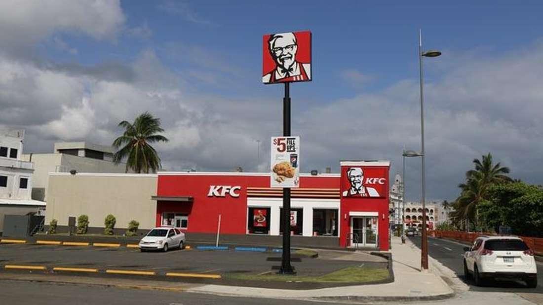 Platz 4: KFC (rund 20.000 Filialen)