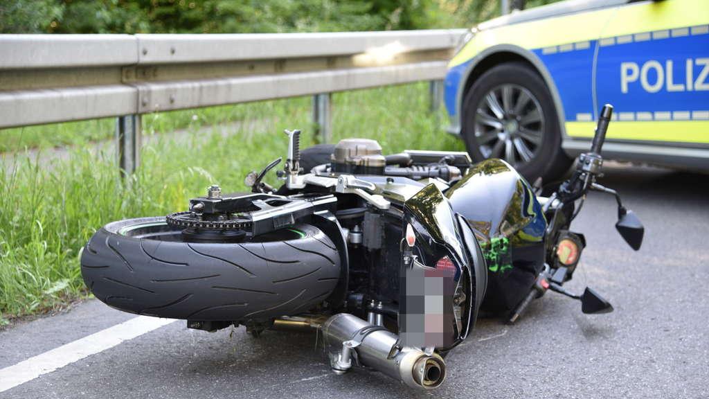 oftersheim walldorf motorradfahrer stirbt bei unfall auf b291 region. Black Bedroom Furniture Sets. Home Design Ideas