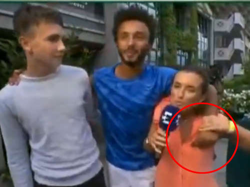 French-Open-Profi: Grabsch-Attacke auf Reporterin live im TV  - suspendiert!