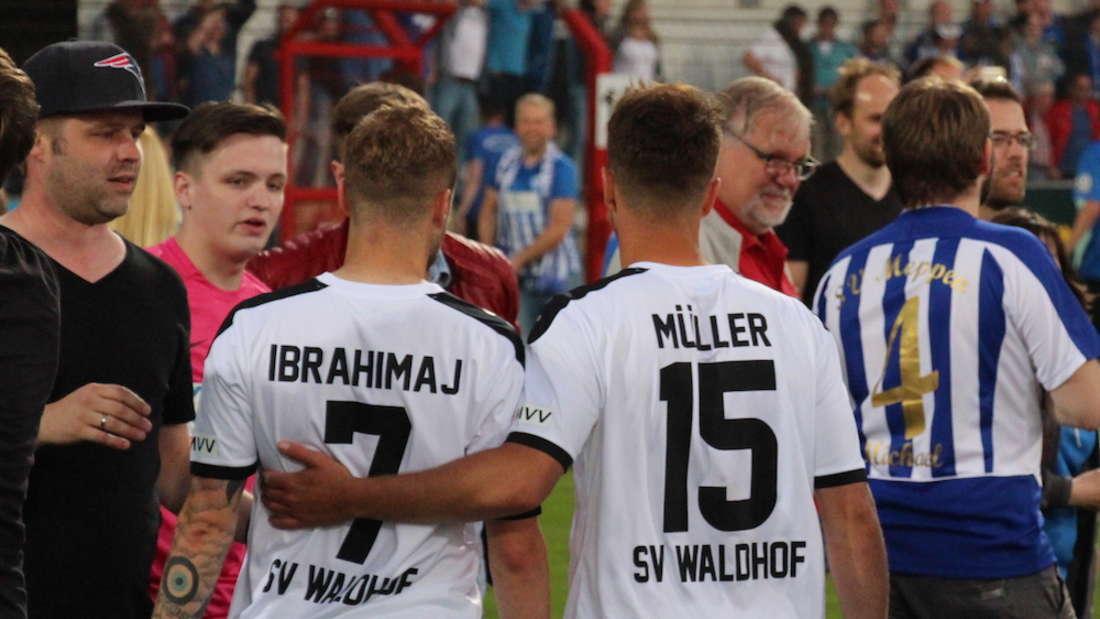 SV Waldhof verliert Aufstiegsrückspiel in Meppen.