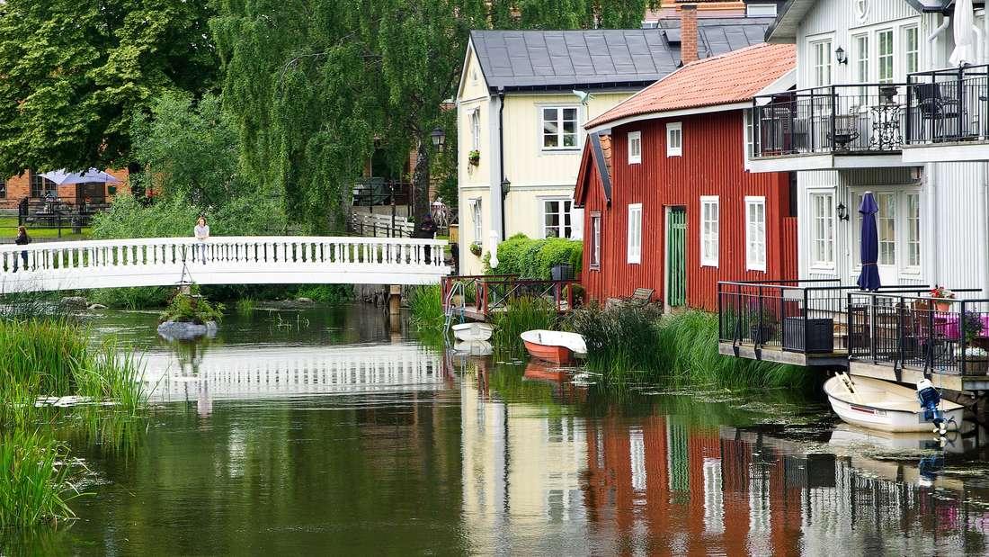 """In Schweden gilt das """"Jedermannsrecht"""": Jeder darf die Natur frei nutzen, campen oder wandern, wo er gerne möchte."""
