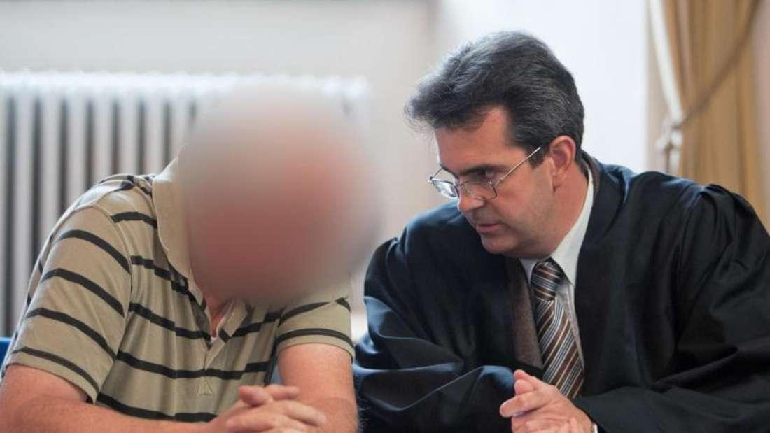 Der als «Knöllchen-Horst» bekannt gewordene Angeklagte bei einem seiner zahllosen Gerichtstermine. Foto: Mark Härtl/Archiv