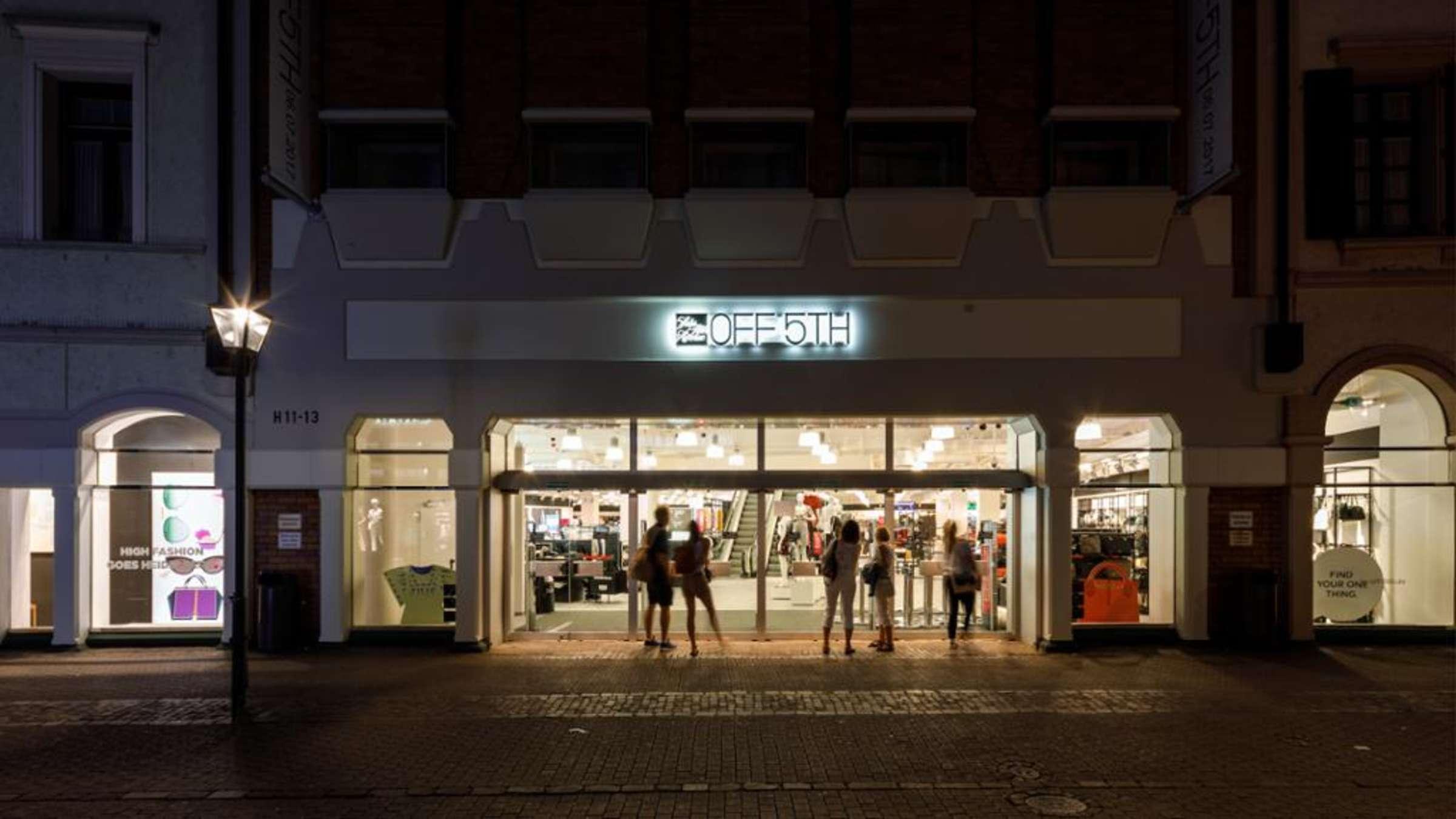 Heidelberg Altstadt: Saks off 5th wird geschlossen neuer