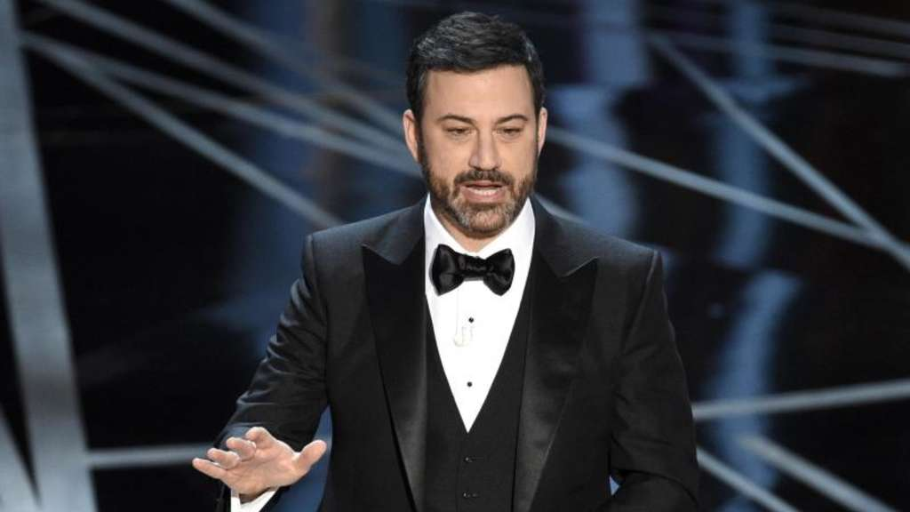 Jimmy Kimmel bei der Oscar-Gala 2017. Foto: Chris Pizzello