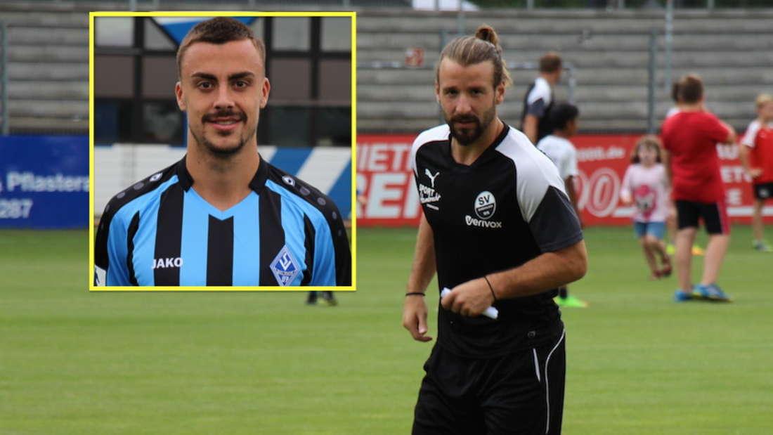 Philipp Förster (li.) und Sahin Aygünes (r.) spielen künftig für den SV Sandhausen.