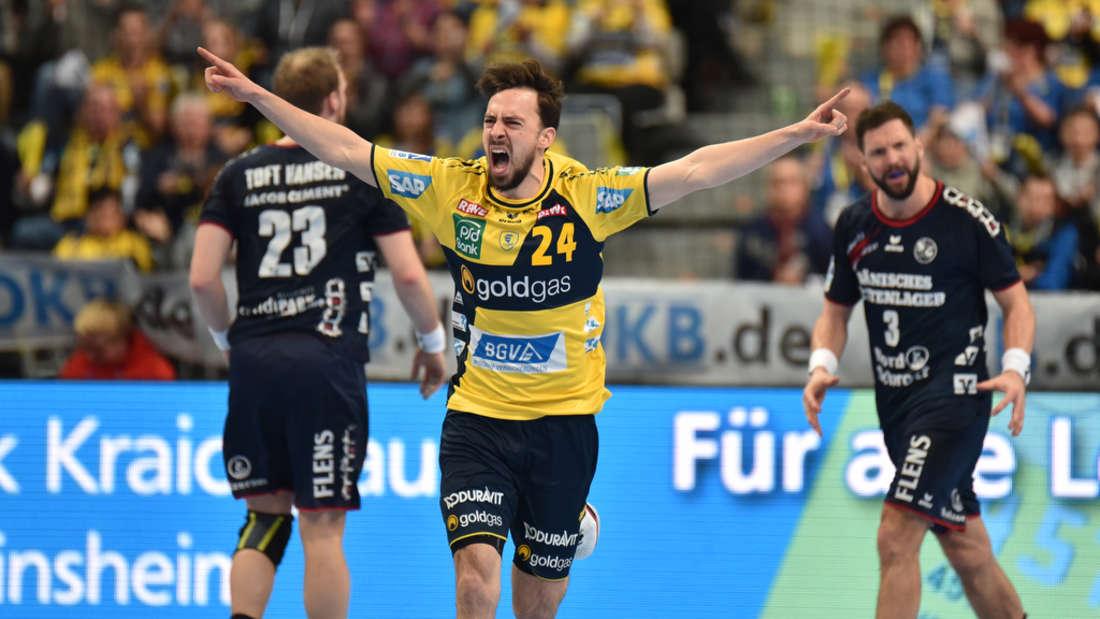 Spielt seit zehn Jahren für die Rhein-Neckar Löwen: Patrick Groetzki.