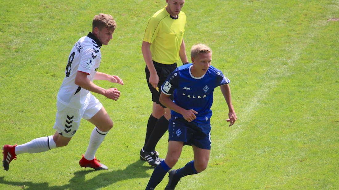 SV Waldhof verliert Heimspiel gegen SC Freiburg II.