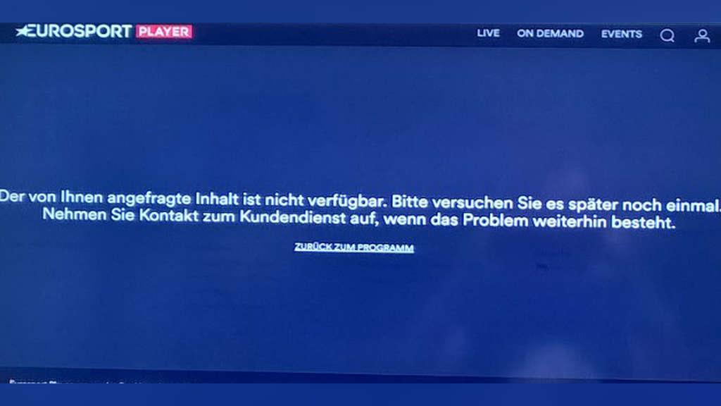 Eurosport Player Ist In Diesem Land Nicht Verfügbar