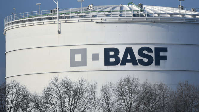 BASF drosselt Produktion in Texas