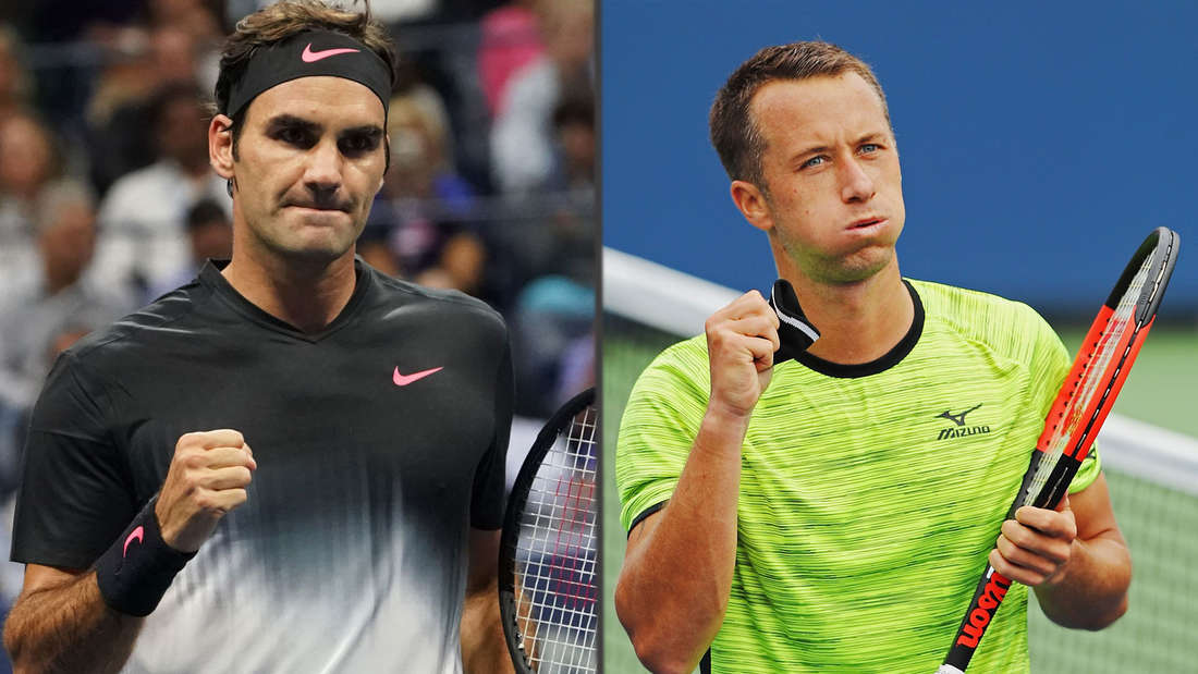 Federer und Kohlschreiber treffen im Achtelfinale aufeinander.