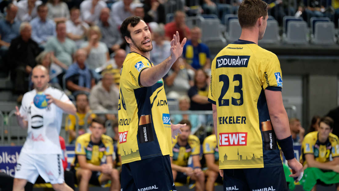 Rhein-Neckar Löwen gewinnen Heimspiel gegen GWD Minden deutlich.