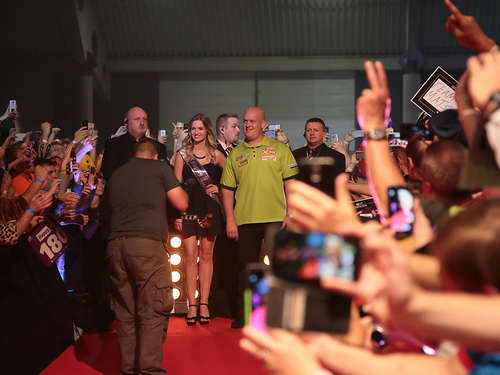 Fotos: German Darts Grand Prix in der Maimarkthalle