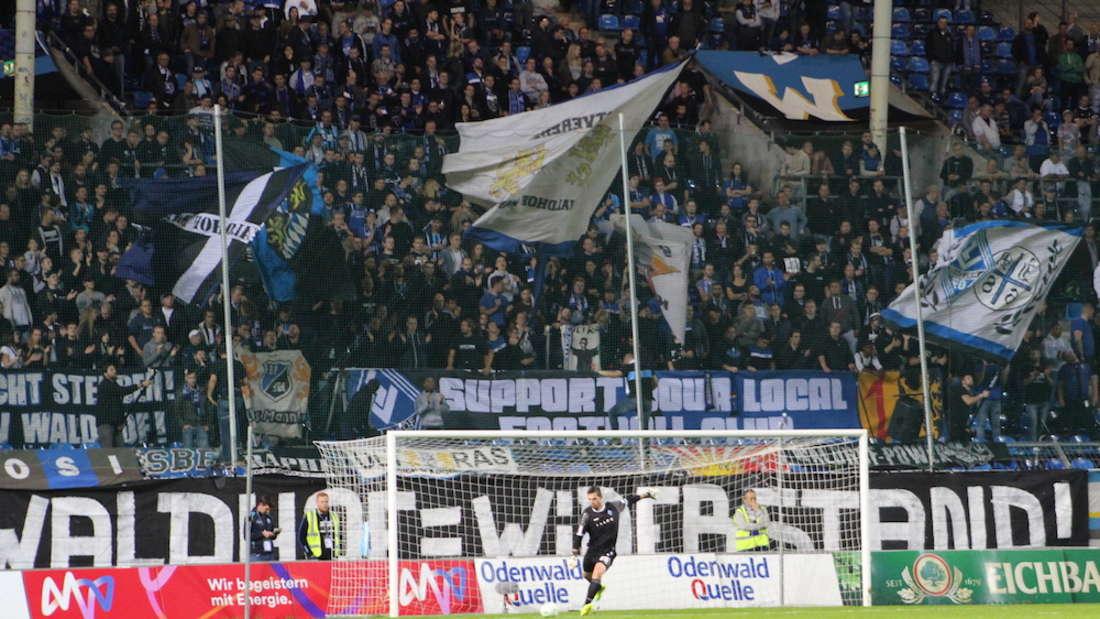 SV Waldhof gewinnt Heimspiel gegen TuS Koblenz.