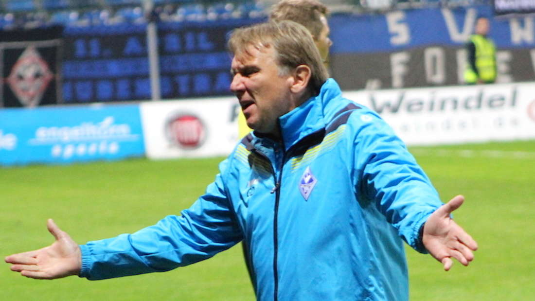 SVW-Coach Gerd Dais ist mit der Leistung gegen TuS Koblenz nicht zufrieden.