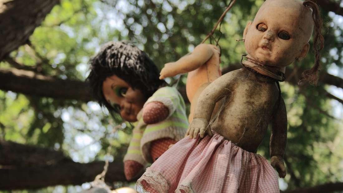 Die Puppeninsel in Mexiko