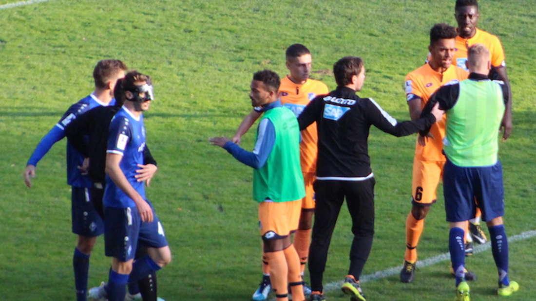 Im Carl-Benz-Stadion: SV Waldhof mit 2:2 gegen TSG Hoffenheim II.