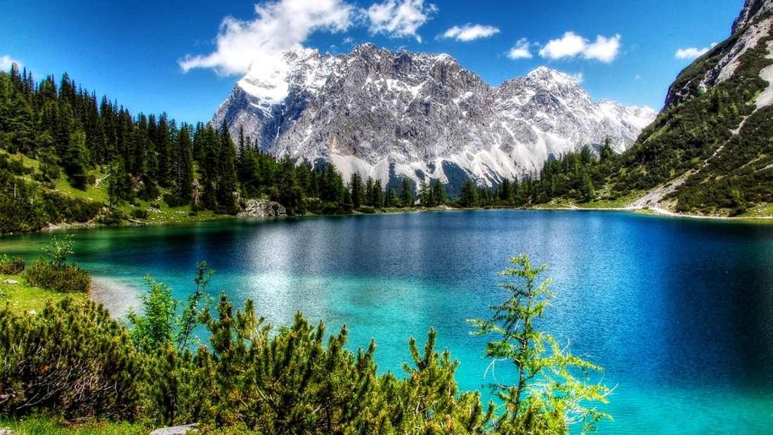 Ein Paradies für Wanderer und Wintersportler: die Zugspitze.