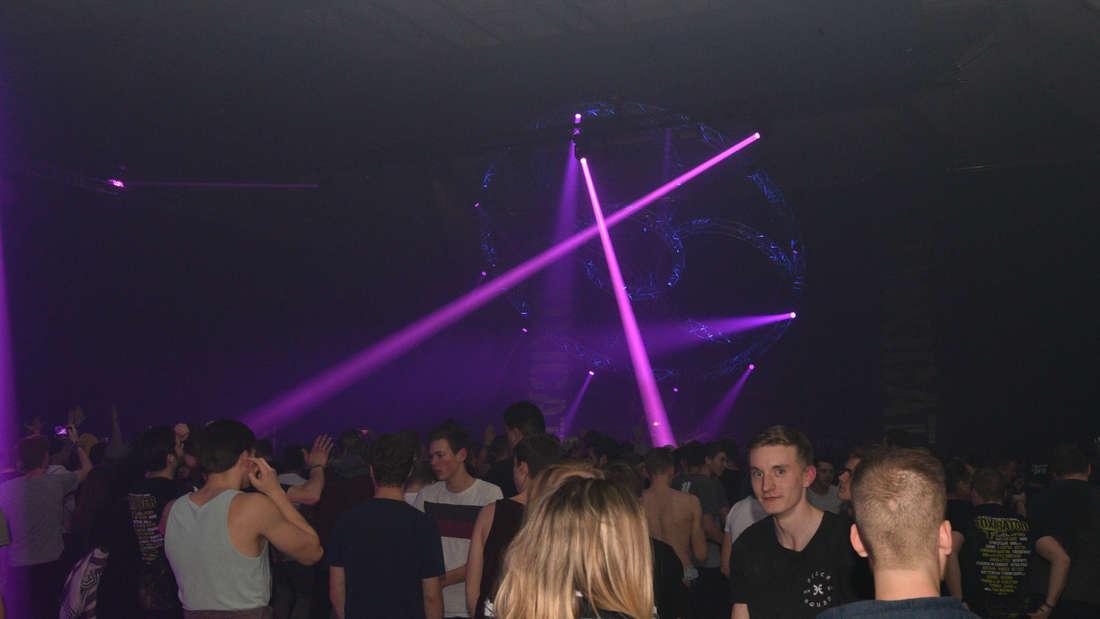 Toxicator 2017 in der Maimarkthalle in Mannheim.