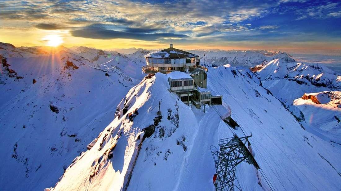 Skiurlaub in der Schweiz - hier finden Sie die besten Skigebiete.