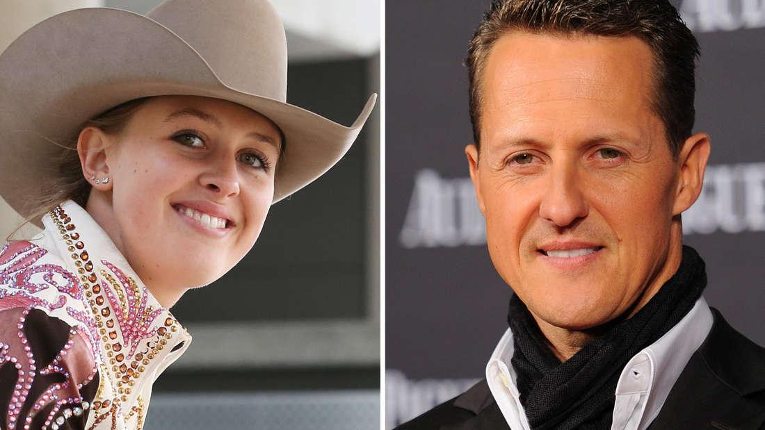 Michael Schumacher erhält rührende Glückwünsche zu seinem Geburtstag von TochterGina-Maria.