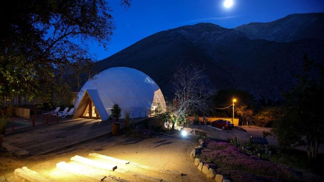 """5. """"Star Gazing"""" im Elqui Domosin der chilenischen Wüste."""