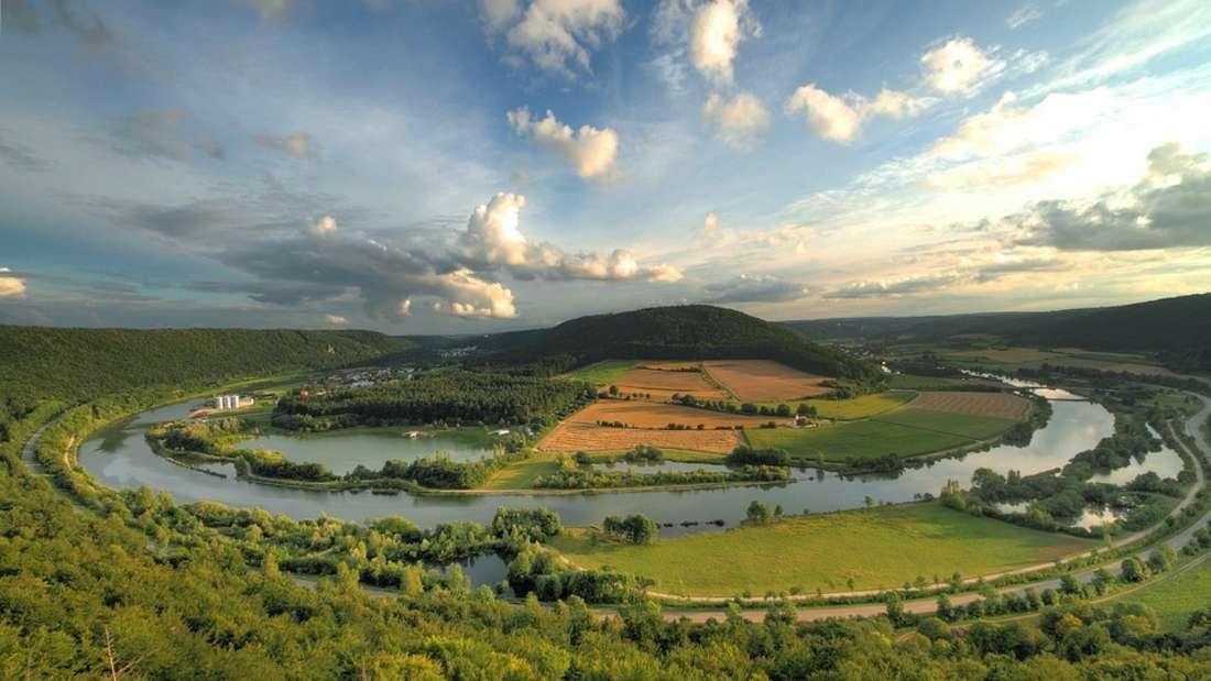 Altmühltal-Panoramaweg: Der bayrische Altmühltal-Panoramaweg führt 200 Kilometer durch den gleichnamigen Naturpark.