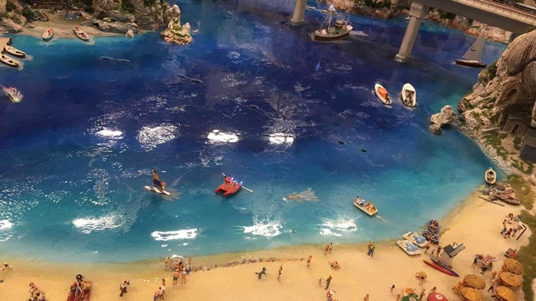 Verblüffend: Hier sieht es wirklich aus wie am Strand.