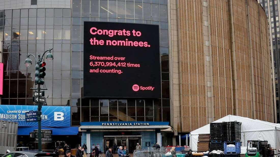 Die Grammy Awards 2018 finden im New Yorker Madison Square Garden statt.